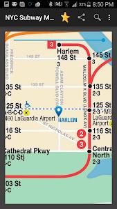 New York Subway Map (NYC) screenshot 1