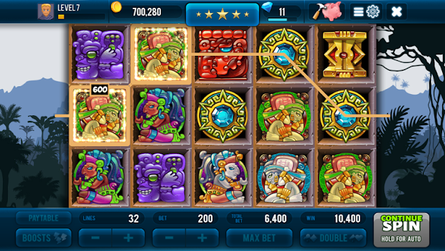 Aztec Lost Empire Slots - Casino Game apk screenshot