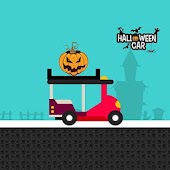 Halloween car racing