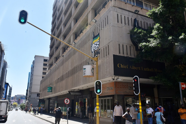 ANC headquarters at Luthuli House in Johannesburg. File photo.