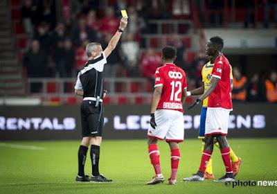 """Erichot évite la rouge au Standard : """"Je ne me suis pas caché"""""""