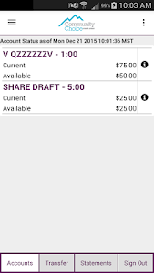 Your Choice Mobile Banking screenshot 1