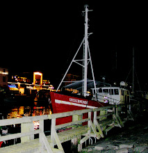 Photo: Fishing boat. Warnemünde.