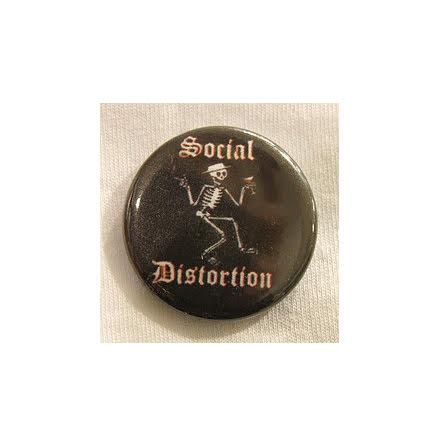 Social Distortion - Skelleton - Badge