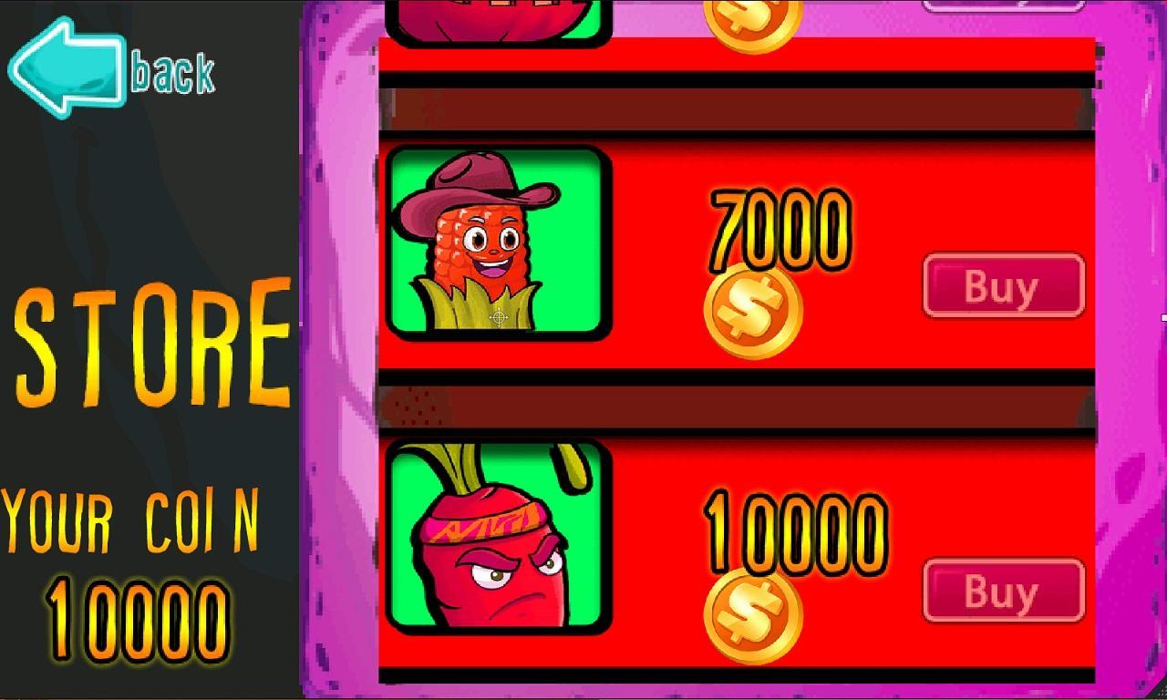 Fruit vs zombies - Fruits Vs Zombies Screenshot