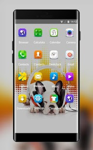 Puppy Theme for Samsung Galaxy Core Lite Launcher - náhled