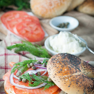 Smoked Salmon Cream Cheese Sandwich Recipes.