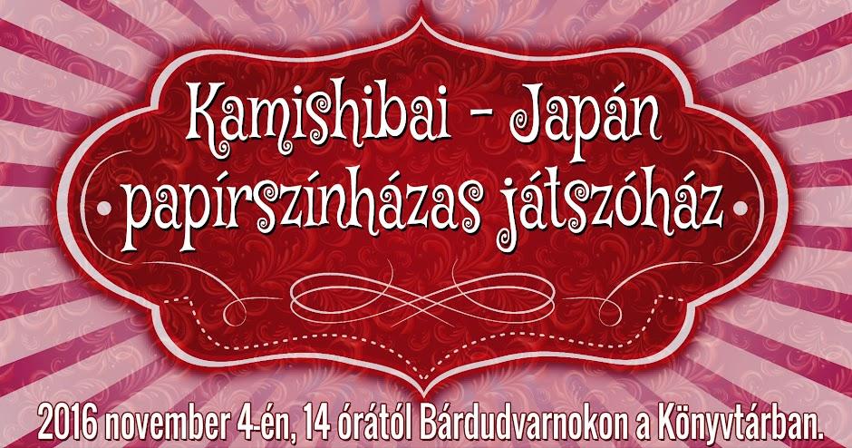 Kamishibai Japán papírszínházas játszóház