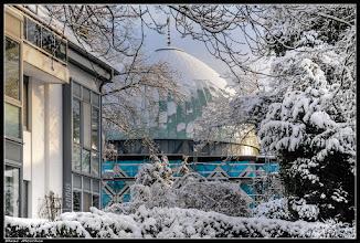 Photo: Die Blaue Moschee an der Alster in Hamburg.