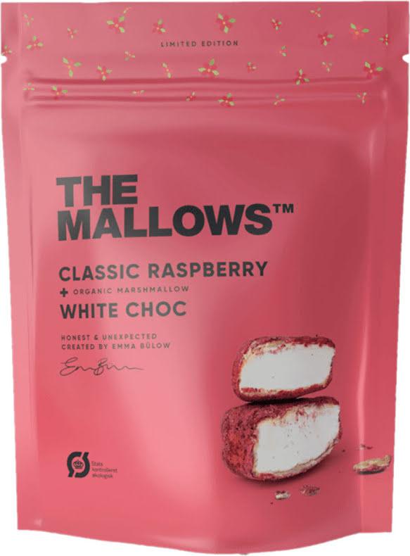 Classic Raspberry – Marshmallow, hallon & vitchoklad – The Mallows