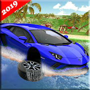 Water Surfing Floating Car Racing Game 2019 APK