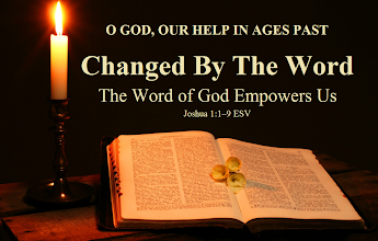 "Photo: NEW Series: Changed By The Word  Seven Part Series  Part 1 of 7 Theme: O GOD, OUR HELP IN AGES PAST ~ Series: Changed By The Word ~ Message: The Word of God Empowers Us ~ Scripture: Joshua 1:1–9 ESV ~ Image: The Word of God  Biblical Inspiration 1 Changed By The Word ~ The Word of God Empowers Us  ''As we embark on a New Year, we, like Israel, have to rediscover the power of God's Word in the midst of transition.''  1. The Word of God assured them of victory  2. The Word of God assured them of blessing  3. The Word of God assured them of continuity   The bottom line:  1. God transcends human leadership  2. God blesses human leadership  3. God selects human leadership  https://sites.google.com/site/biblicalinspiration1/biblical-inspiration-1-o-god-our-help-in-ages-past-series-changed-by-the-word-message-the-word-of-god-empowers-us-the-moody-church  Announcement  Pastor Lutzer Poised To Assume A New Role - Joshua 1:1-9  ""As we embark on a New Year, we, like Israel, have to rediscover the power of the Word of God in the midst of transition.""  from The Moody Church"