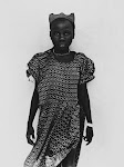 jonge Afrikaanse vrouw