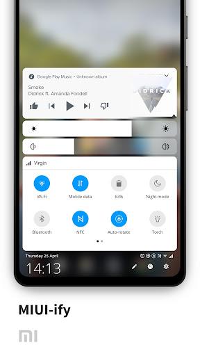 MIUI-ify - Notification Shade & Quick Settings 1.8.4 screenshots 1
