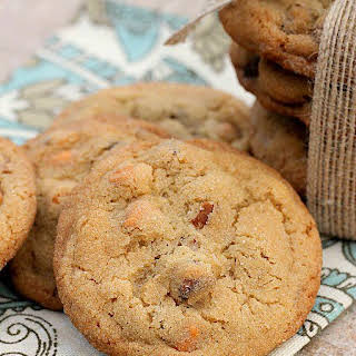 Sweet and Salty Butter Pecan Cookies.
