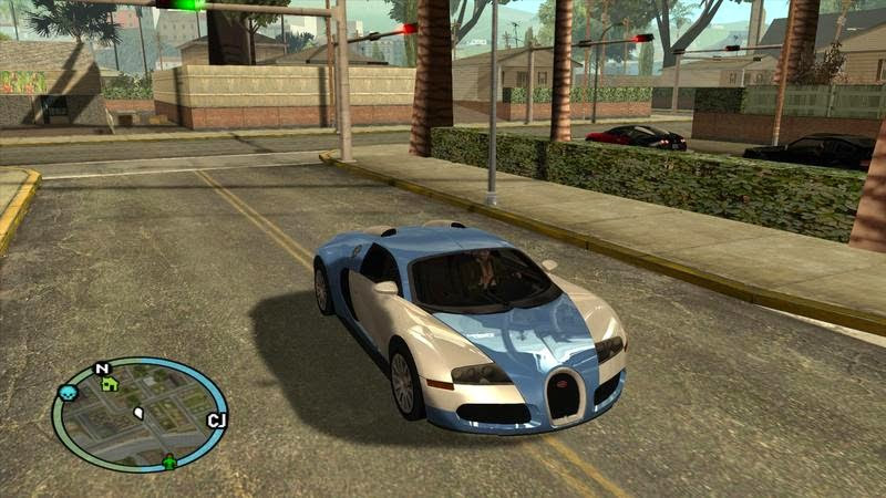 Download game GTA: San Andreas Ultimate Graphics 2015