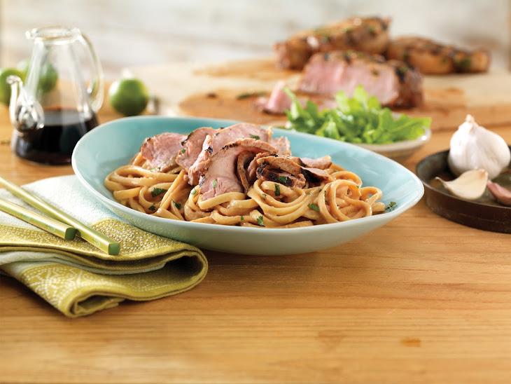 Thai Pork Noodle Bowl Recipe
