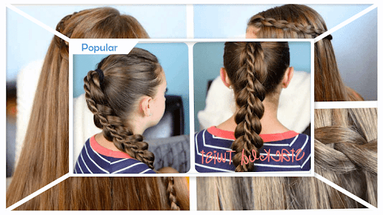 Cute Girls Hairstyle Step by Step - náhled