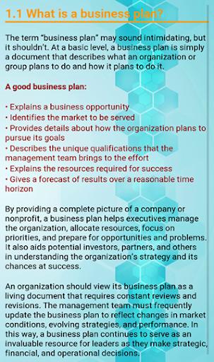 Business Plan Development screenshot 5