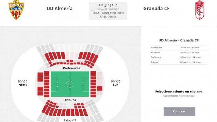 Las entradas, a la venta.