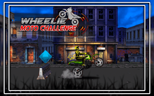 Wheelie Moto Challenge 1.0.2 screenshots 2