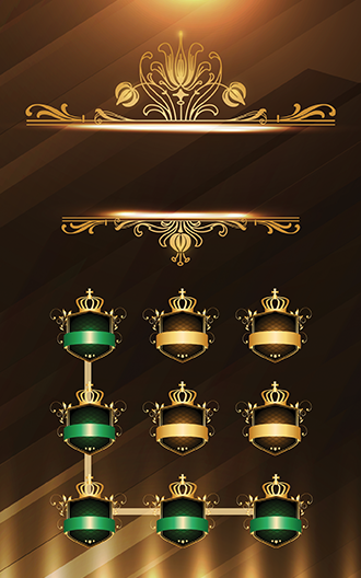 Luxury Gold Metal Theme- screenshot