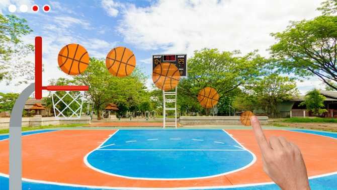 Basketball Shooter - Free Throw Game Android 1