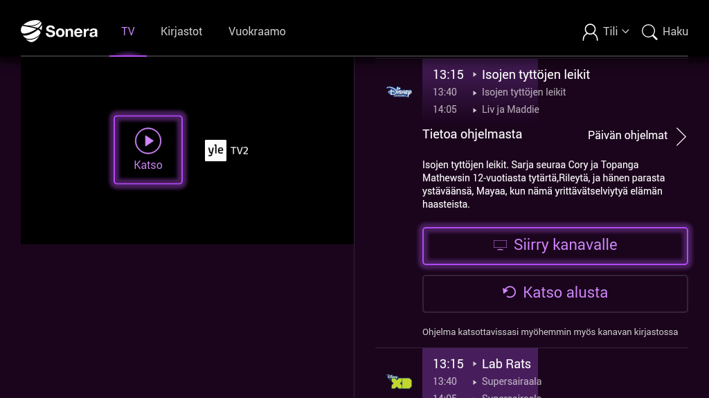 Telia TV Finland – Android-sovellukset Google Playssa