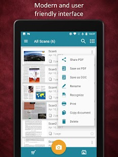 Smart Doc Scanner: Frei PDF Scanner App Screenshot