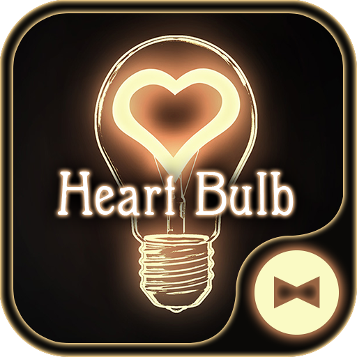 Cute Wallpaper Heart Bulb Theme Icon