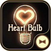 Cute Wallpaper Heart Bulb Theme