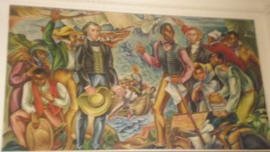 Photo: Amistad mural @ Talladega College