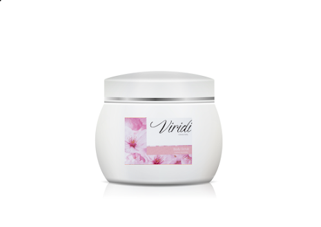 Body scrub cherry blossom (Resestorlek)