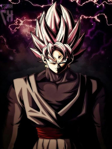 Black Goku Super Saiyan Rose HD Offline screenshot 8