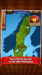 GeoFlight Sweden - Geography screenshot 10