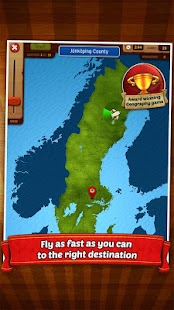 GeoFlight Sweden - Geography- screenshot thumbnail