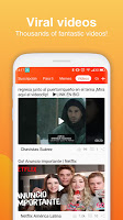 screenshot of Noticias America- Latest, Funny Videos and GIFs