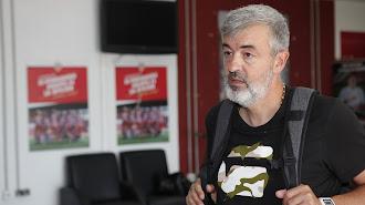 El nuevo míster en Almería.
