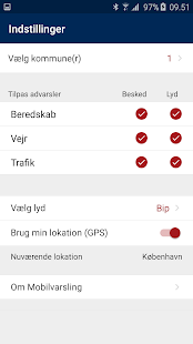 Mobilvarsling- screenshot thumbnail