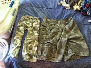 Photo: Clark's Pants My Shorts