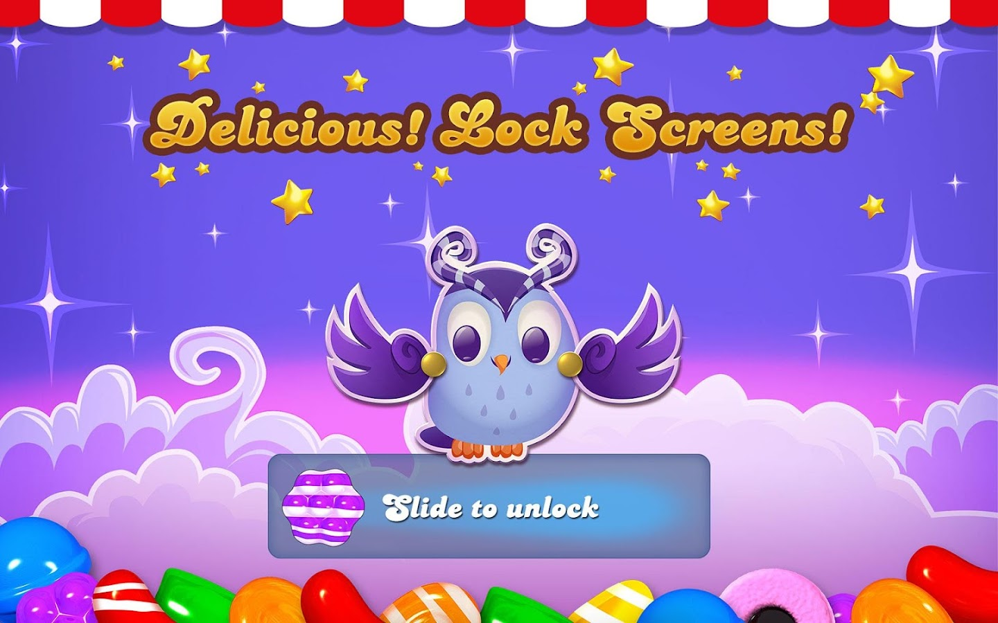 Candy Crush Android Theme- screenshot