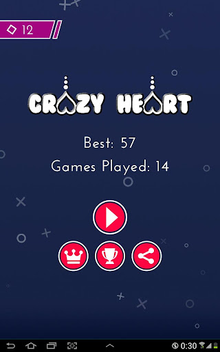 Crazy Heart - RETRO game