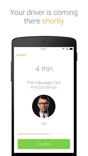 Pink Car Service screenshot 3