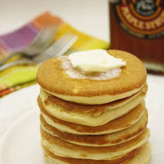 Buttermilk Silver Dollar Pancakes.