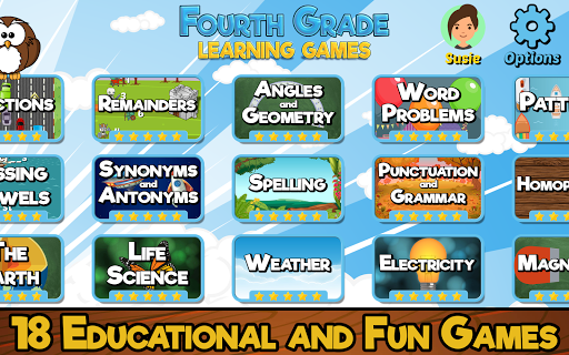 Fourth Grade Learning Games apklade screenshots 1