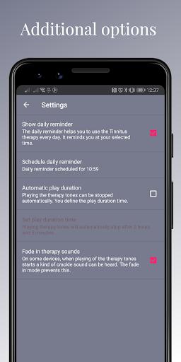 Tonal Tinnitus Therapy screenshots 3