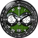 Gray Warrior Knight watch face icon