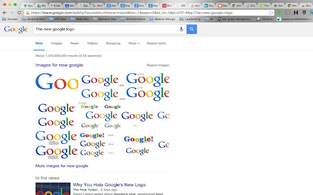 Google Logo Replacement Extension