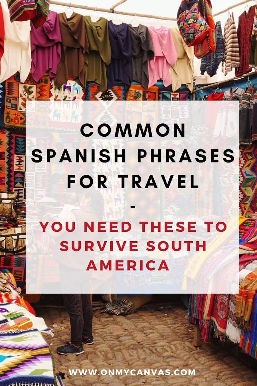 This is a list of Common Spanish Phrases for travel that are a must have for all people traveling to South America. How to say in Spanish | Basic Spanish words | Spanish common phrases | Basic Spanish phrases | traveling phrases | basic Spanish conversation | Spanish words for beginners | Spanish Useful Phrases | Spanish phrases for traveling | Basic Spanish sentences | Spanish travel phrases | Spanish phrases for travelers | Simple Spanish phrases #southamerica #spanish #traveltips #language
