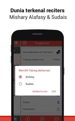 Al Quran Bahasa Indonesia MP3 screenshot 2